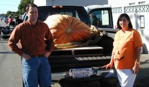 Big and little pumpkins