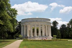 This is President Harding's Ohio memorial. It's the last of the great presidential memorials.