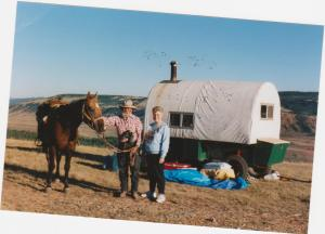 Neva and Frank sheepherder 001