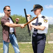 The PR24 nightstick first used by Lancaster police gave them some additional options for subduing suspects. I did a feature story on it for the local newspaper.