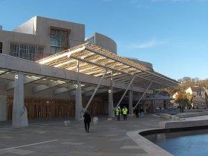 New Parliament building , Holyrood, Edinburgh
