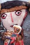 burlap doll