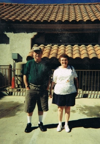 My mom and I were staying at a Rialto, California hotel in October 1999 when we experienced a very noticeable earthquake.