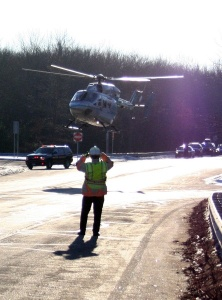 A helicopter can be the difference between living and dying for folks injured in an auto accident.