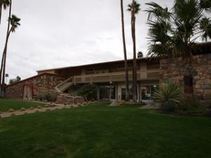 Desert Palm Springs lawn
