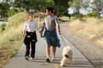 dog walking_istock