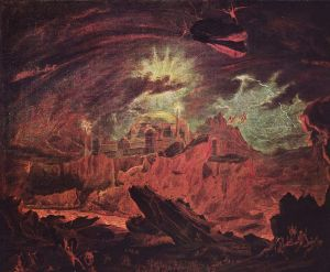 Here's artist John Martin's version of the Underworld. It looks like the kind of Underworld the Green god Hades could most definitely like.