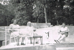 My Grandma Mid and her sisters Nellie and Hazel loved sitting on the back porch of Uncle Clarence's Wolf Lake, Michigan, home. In the '50s and '60s, relatives loved to vacation at Wolf Lake. I couldn't wait for summer and trips to Wolf Lake.