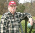 This guy's name is Mike Staton. He's the author of this post on Writing Wranglers & and Warriors. And yes, that's a cannon he's leaning against.
