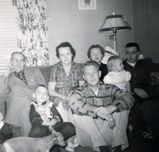 Christmas Rittman 1958