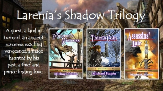 Larenia's Shadow Trilogy5