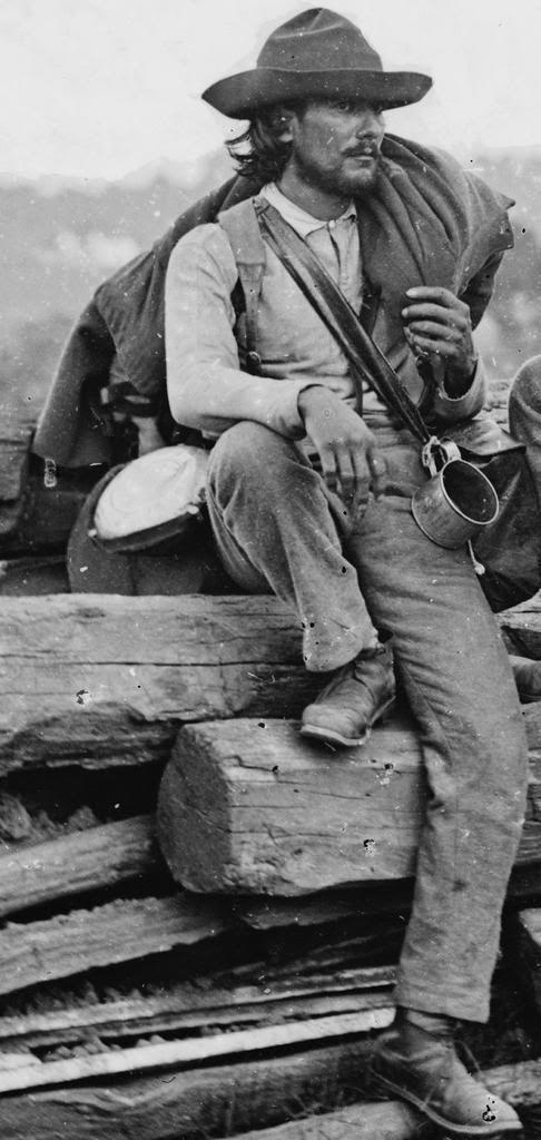 Captured Confederate