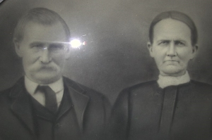 John and Sarah (Hockensmith) Edwards, parents of Icie Belle (Edwards) Kurtz