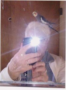 Neva selfie bird 001