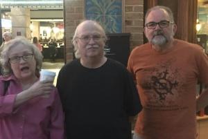 Mike, Gary Scott, and Sharon Benson