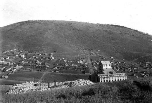 goldfield east of Battle Mountain