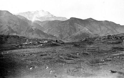 pikes peak near colorado city 1870