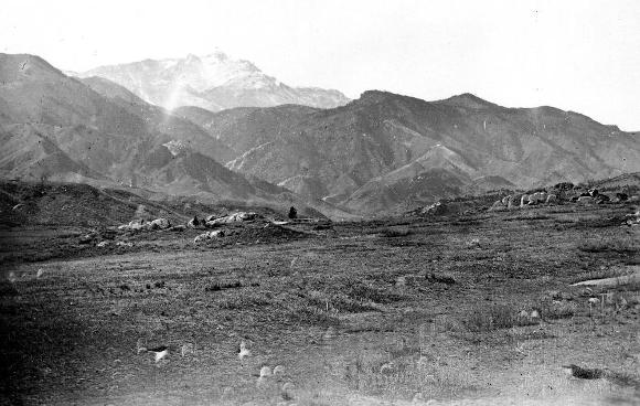pikes peak near colorado city 1870