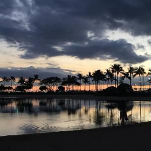 Sunset in Hawiia