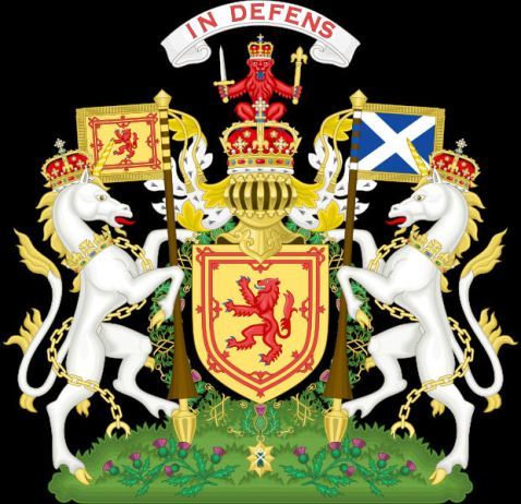 Royal coat fo arms of the kingdom of scotland 12th century to 1603