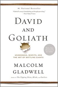 2018-07-13 David and Goliath by Gladwell cover amazon renee kimball 41xQkhvrU8L._SX331_BO1,204,203,200_