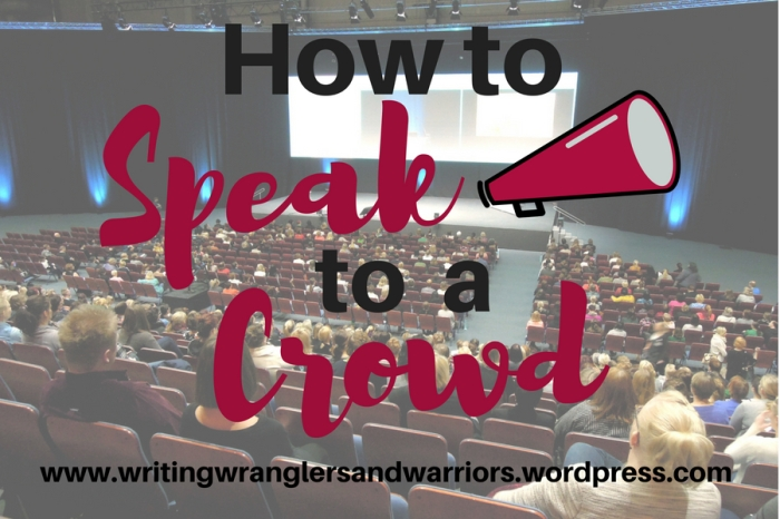 Afraid of public speaking? Conquer your fears and promote your work! | writing | speaking | personal growth