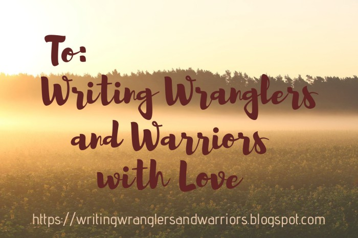 to Writing Wranglers with Love